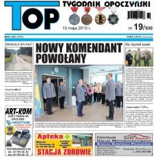 TOP - Tygodnik Opoczyński nr 19 (930) z 15 maja 2015 r.