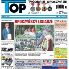 TOP - Tygodnik Opoczyński nr 21 (932) z 29 maja 2015 r.