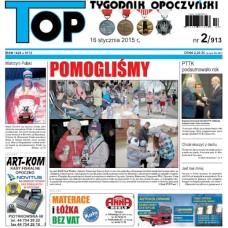 TOP - Tygodnik Opoczyński nr 2 (913) z 16 stycznia 2015 r.