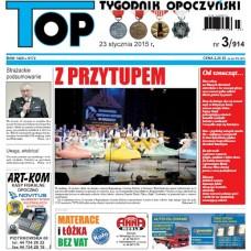 TOP - Tygodnik Opoczyński nr 3 (914) z 23 stycznia 2015 r.
