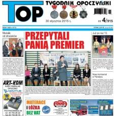 TOP - Tygodnik Opoczyński nr 4 (915) z 30 stycznia 2015 r.