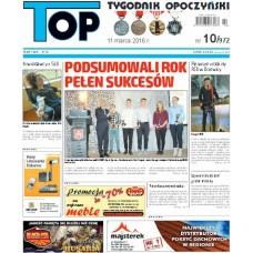 TOP - Tygodnik Opoczyński nr 10 (972) z 11 marca 2016 r.