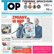 TOP - Tygodnik Opoczyński nr 16 (978) z 22 kwietnia 2016 r.