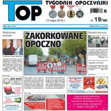 TOP - Tygodnik Opoczyński nr 19 (981) z 13 maja 2016 r.