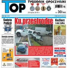 TOP - Tygodnik Opoczyński nr 30 (992) z 29 lipca 2016 r.