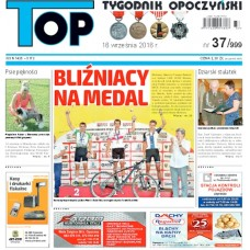 TOP - Tygodnik Opoczyński nr 37 (999) z 16 września 2016 r.