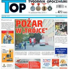 TOP - Tygodnik Opoczyński nr 41 (1003) z 14 października 2016 r.