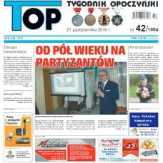 TOP - Tygodnik Opoczyński nr 42 (1004) z 21 października 2016 r.