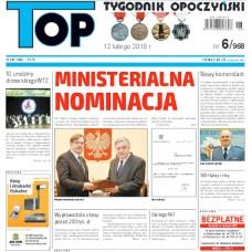 TOP - Tygodnik Opoczyński nr 6 (968) z 12 lutego 2016 r.