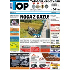 TOP - Tygodnik Opoczyński nr 34 (1152) z 23 sierpnia 2019 r.