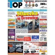 TOP - Tygodnik Opoczyński nr 47 (1165) z 22 listopada 2019 r.