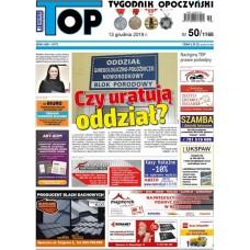 TOP - Tygodnik Opoczyński nr 50 (1168) z 13 grudnia 2019 r.