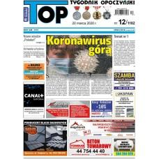 TOP - Tygodnik Opoczyński nr 12 (1182) z 20 marca 2020 r.