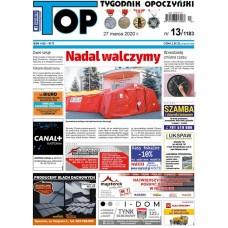 TOP - Tygodnik Opoczyński nr 13 (1183) z 27 marca 2020 r.