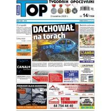 TOP - Tygodnik Opoczyński nr 14 (1184) z 3 kwietnia 2020 r.