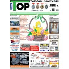 TOP - Tygodnik Opoczyński nr 15 (1185) z 10 kwietnia 2020 r.