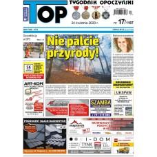 TOP - Tygodnik Opoczyński nr 17 (1187) z 24 kwietnia 2020 r.