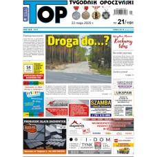 TOP - Tygodnik Opoczyński nr 21 (1191) z 22 maja 2020 r.