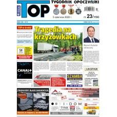 TOP - Tygodnik Opoczyński nr 23 (1193) z 5 czerwca 2020 r.