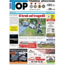 TOP - Tygodnik Opoczyński nr 26 (1196) z 26 czerwca 2020 r.
