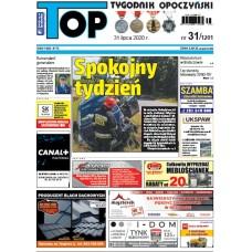 TOP - Tygodnik Opoczyński nr 31 (1201) z 31 lipca 2020 r.