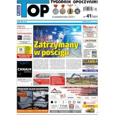 TOP - Tygodnik Opoczyński nr 41 (1211) z 9 października 2020 r.
