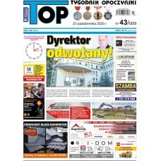 TOP - Tygodnik Opoczyński nr 43 (1213) z 23 października 2020 r.