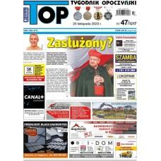 TOP - Tygodnik Opoczyński nr 47 (1217) z 20 listopada 2020 r.
