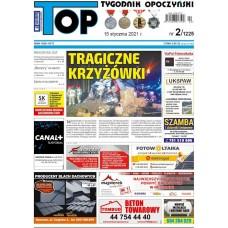 TOP - Tygodnik Opoczyński nr 2 (1225) z 15 stycznia 2021 r.